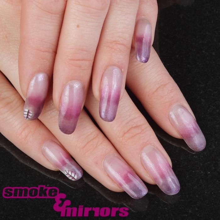 Purple-Ombre