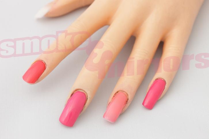 S&M pink comparison